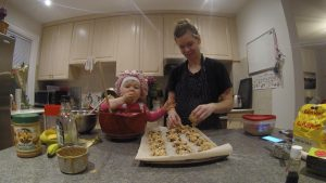 Vegan toddler cookies